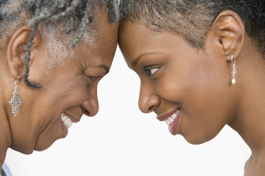 Black Women Heads together smaller